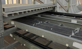 FRP GRP Perforated Cable Tray Manufacturers India, FRP Ladder Type