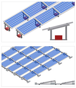 Frp Grp Module Mounting Structure